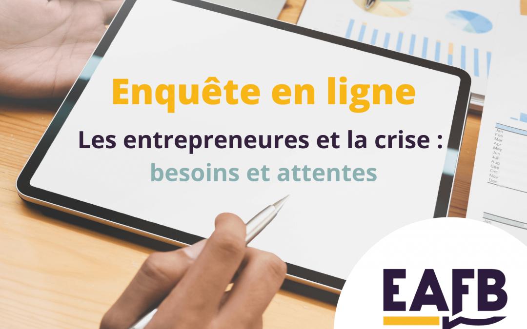 Enquête EAFB : vos besoins et attentes en cette période de crise