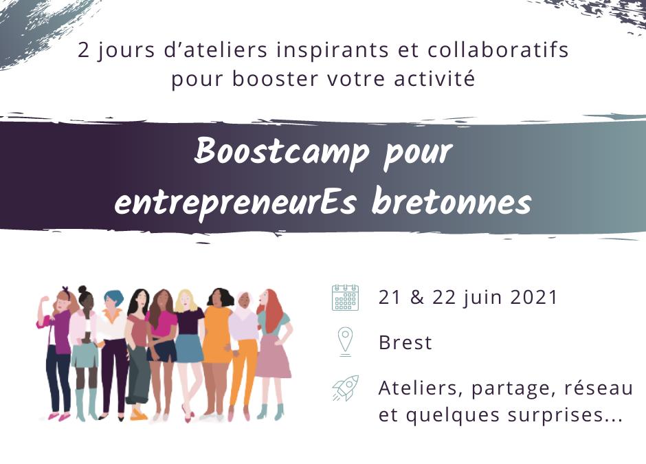 Boostcamp pour entrepreneurEs bretonnes