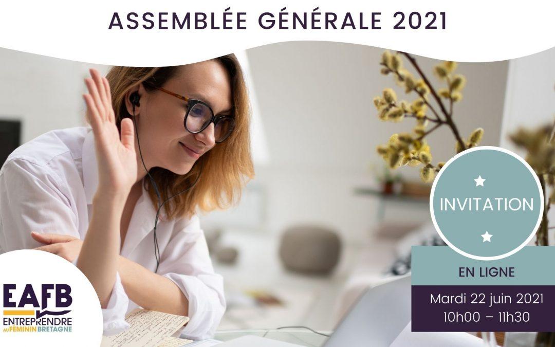 Invitation à l'Assemblée Générale d'EAFB 2021